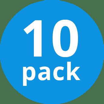 Mehrfachpackung 10x Osram DULUX D/E 26W/840 G24Q-3