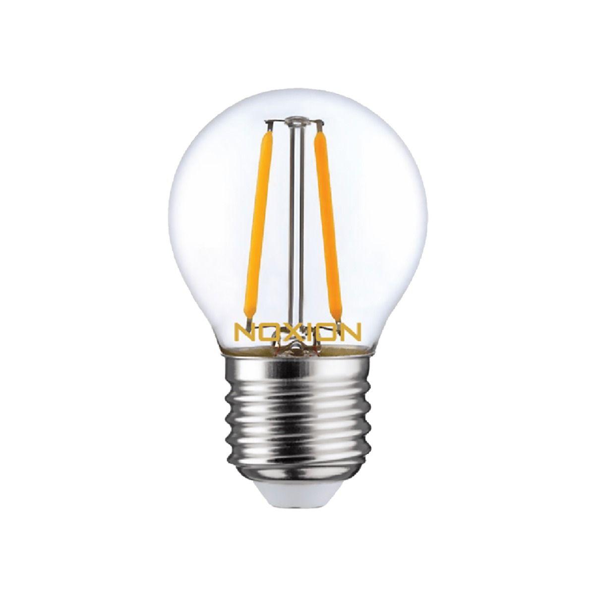 Noxion Lucent LED Lustre E27 2.6W 827 Fadenlampe | Extra Warmweiß - Ersatz für 25W