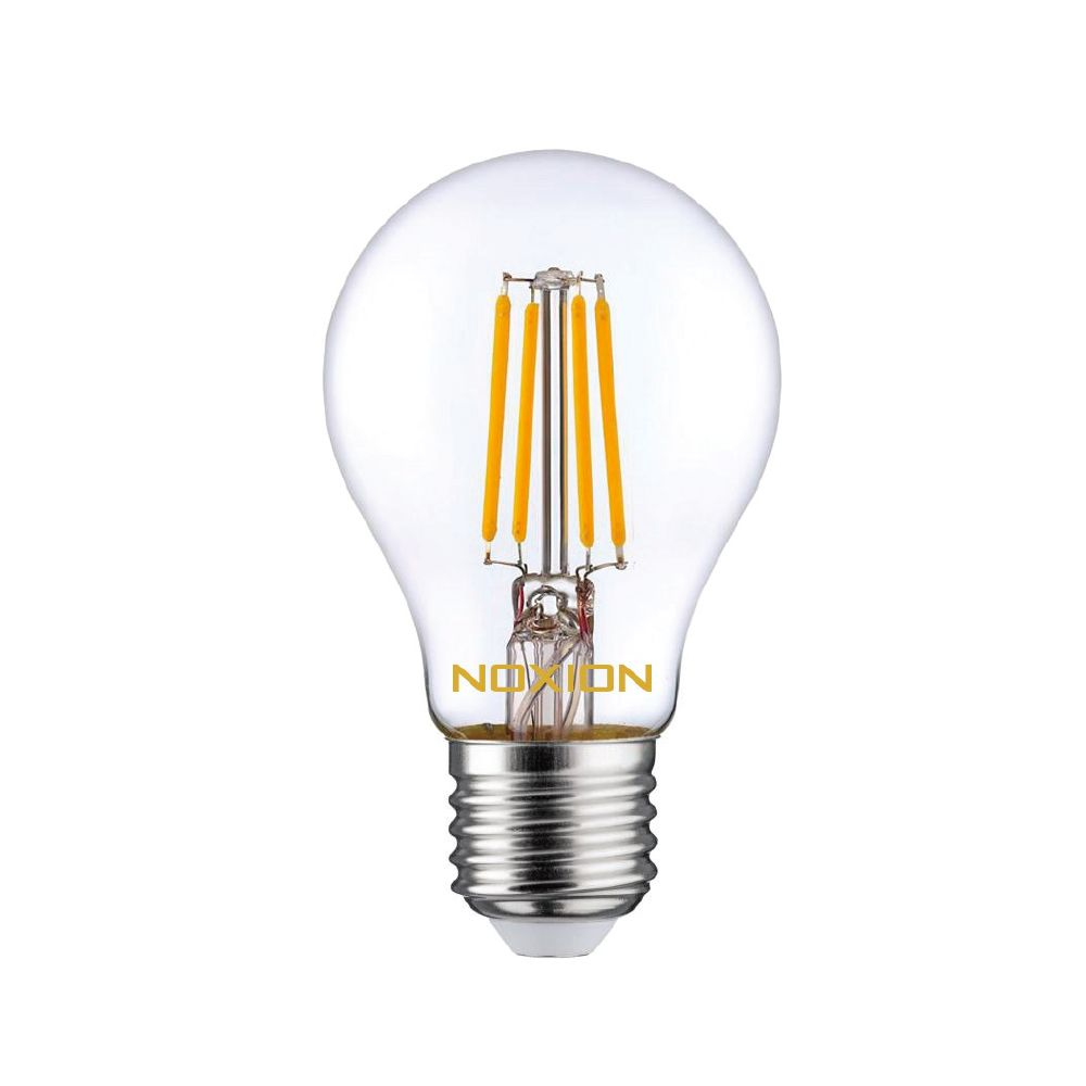 Noxion Lucent Fadenlampe LED Bulb 8W 827 A60 E27 Klar   Extra Warmweiß - Ersatz für 75W