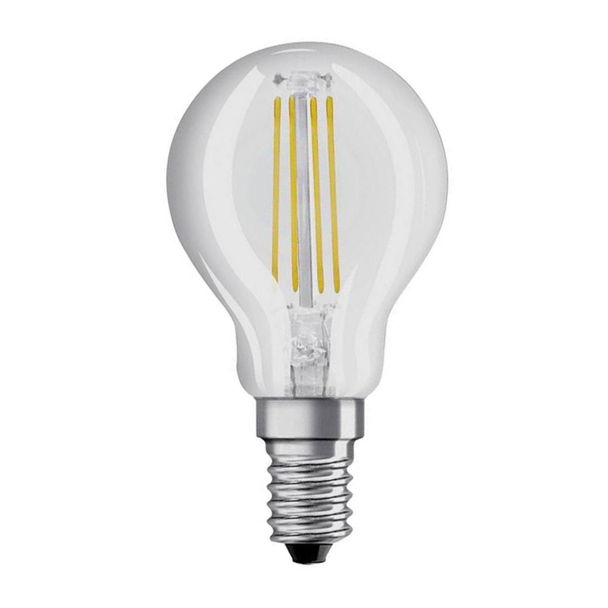 Osram LED Retrofit klassisch E14 P 4W 840 Klar | Kaltweiß - Ersatz für 40W