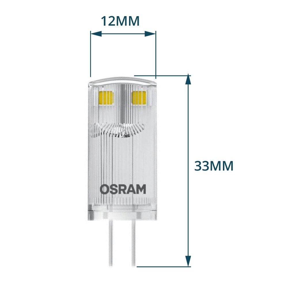 Osram Parathom Pin G4 0.9W 827 Klar | Ersetzt 10W