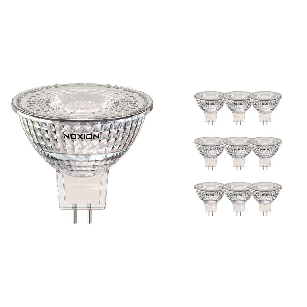 Mehrfachpackung 10x Noxion LED-Spot GU5.3 5W 830 60D 470lm | Dimmbar - Warmweiß - Ersatz für 35W
