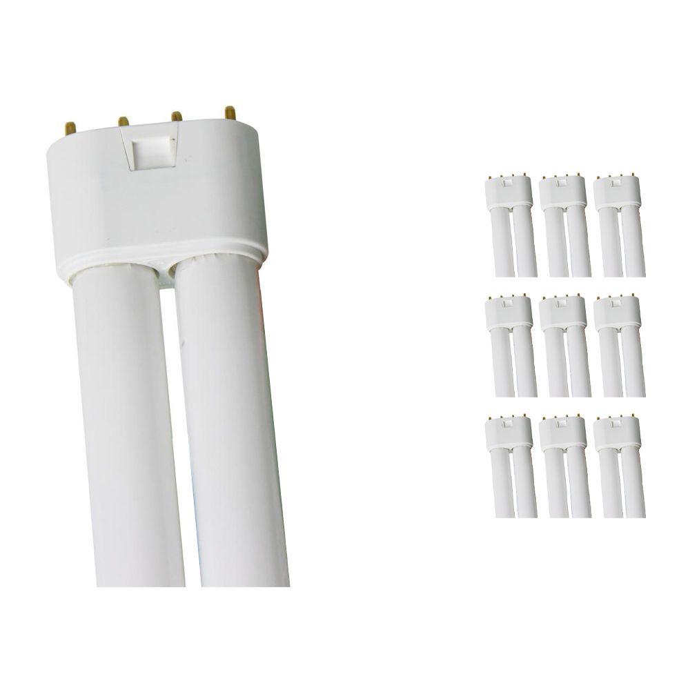 Mehrfachpackung 10x Osram Dulux L 18W 830 | Warmweiß - 4-Pins