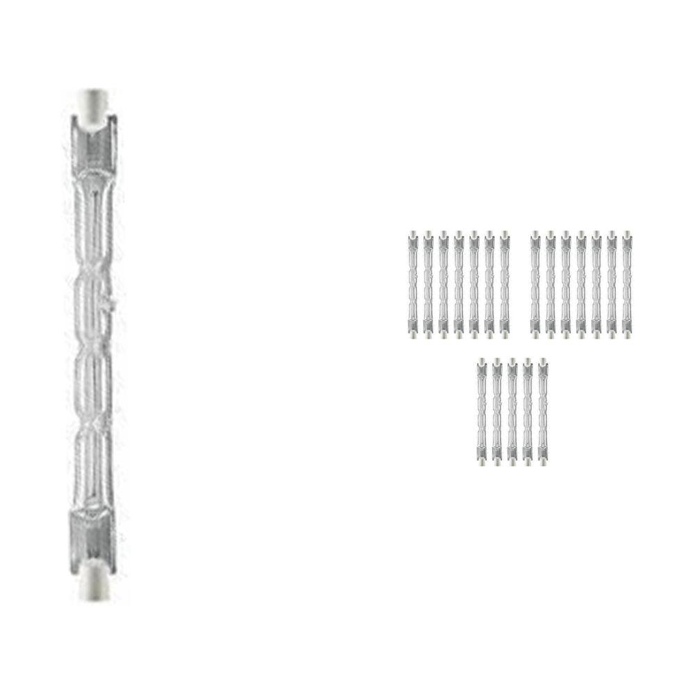 Mehrfachpackung 20x Osram Haloline 64696 Eco ES 120W 230V 11.4cm R7s long