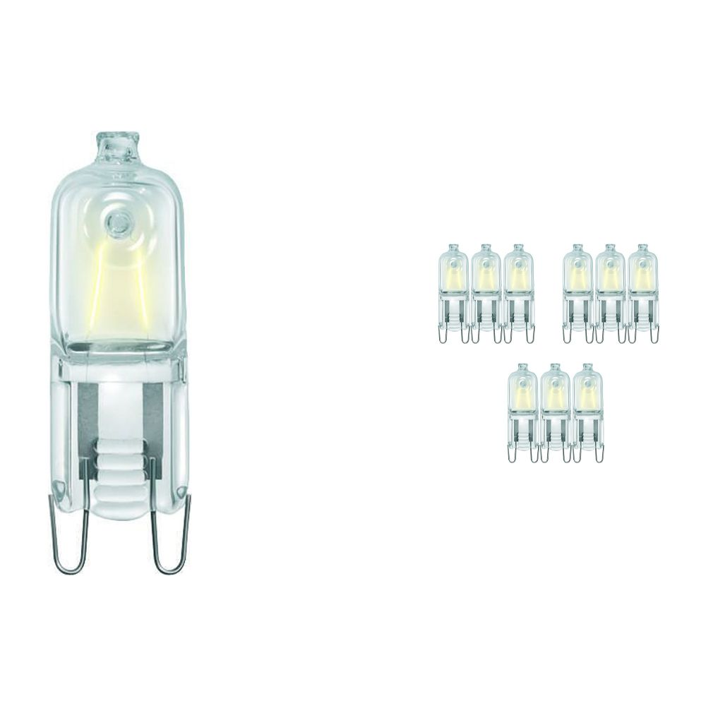 Mehrfachpackung 10x Philips EcoHalo Clickline 42W G9 230V CL