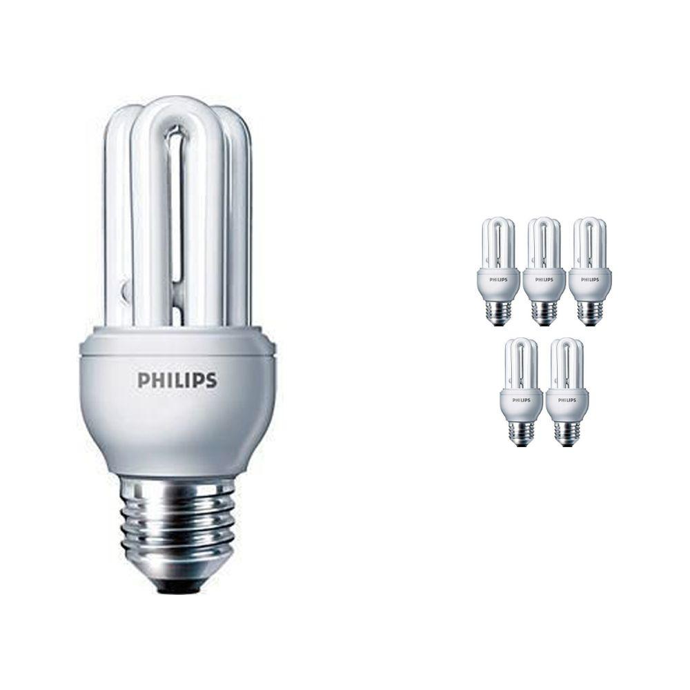 Mehrfachpackung 6x Philips Genie ESaver 11W 865 E27   Tageslichtweiß
