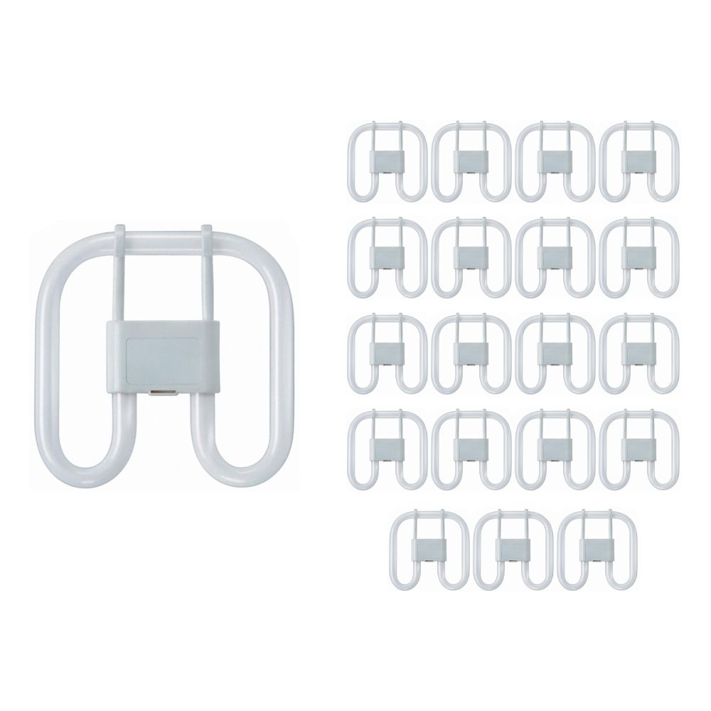 Mehrfachpackung 20x Osram CFL Quadrat 28W 827 2P GR8 | Extra Warmweiß - 2-Pins