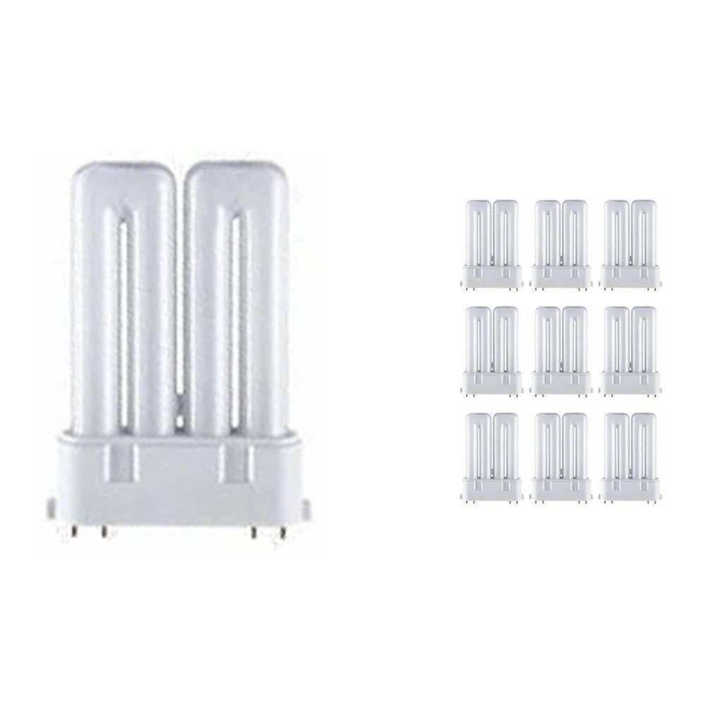 Mehrfachpackung 10x Osram Dulux F 18W 830 | Warmweiß - 4-Pins