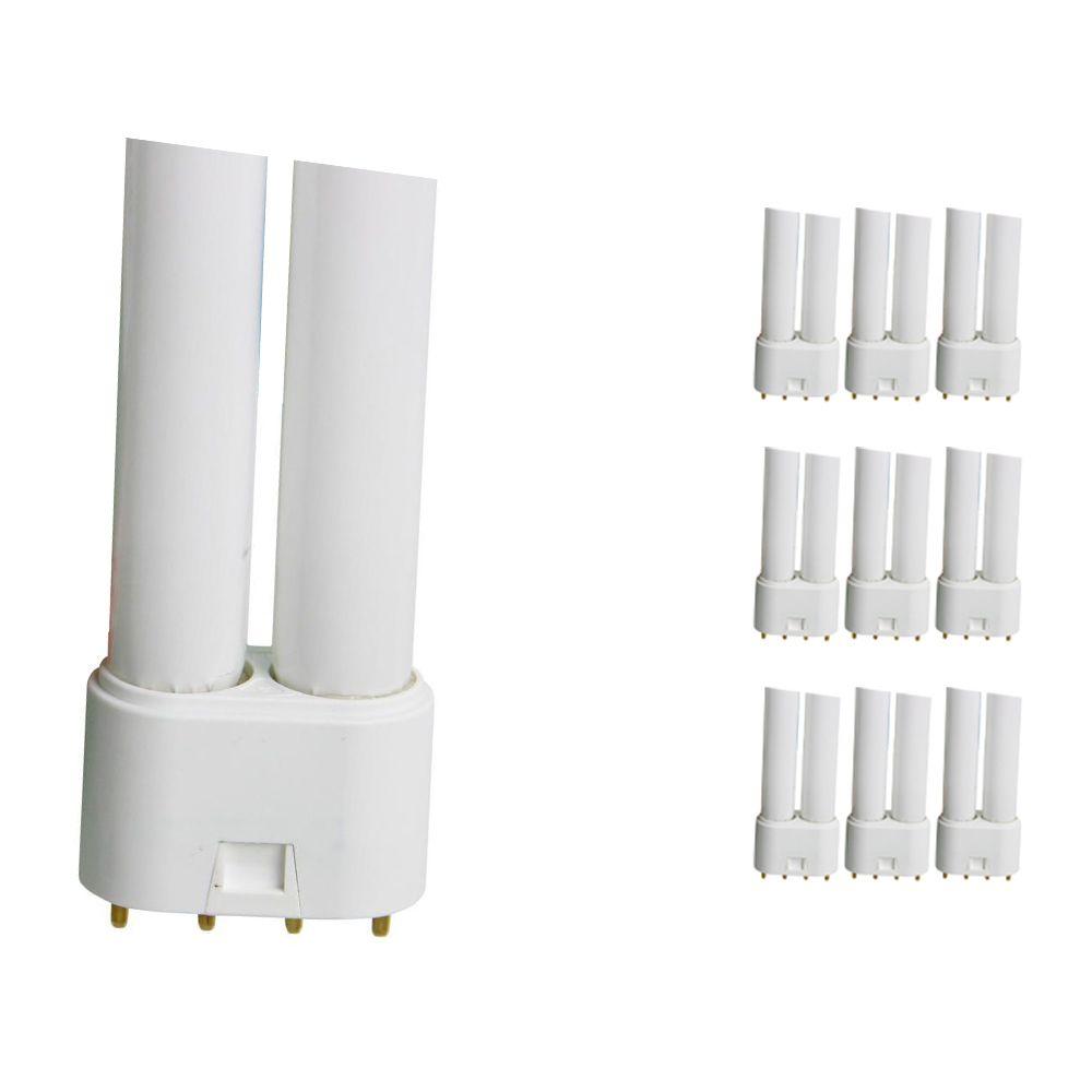 Mehrfachpackung 10x Osram Dulux L 18W 827 | Extra Warmweiß - 4-Pins
