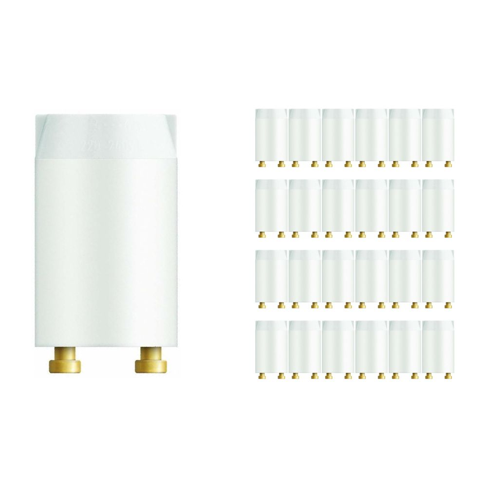 Mehrfachpackung 25x Osram Starter St 151 4-22W langlife SERIE
