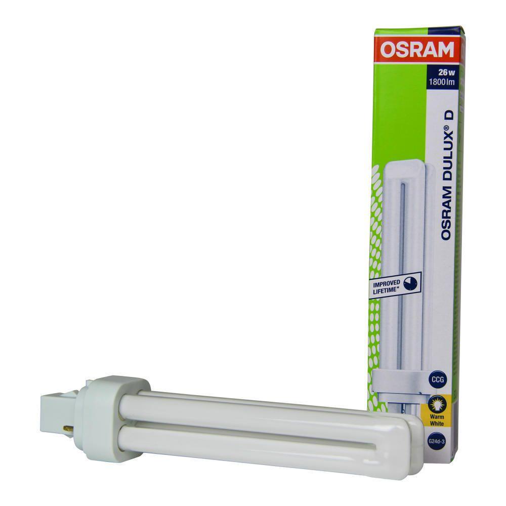 Osram Dulux D 26W 830   Warmweiß - 2-Stift