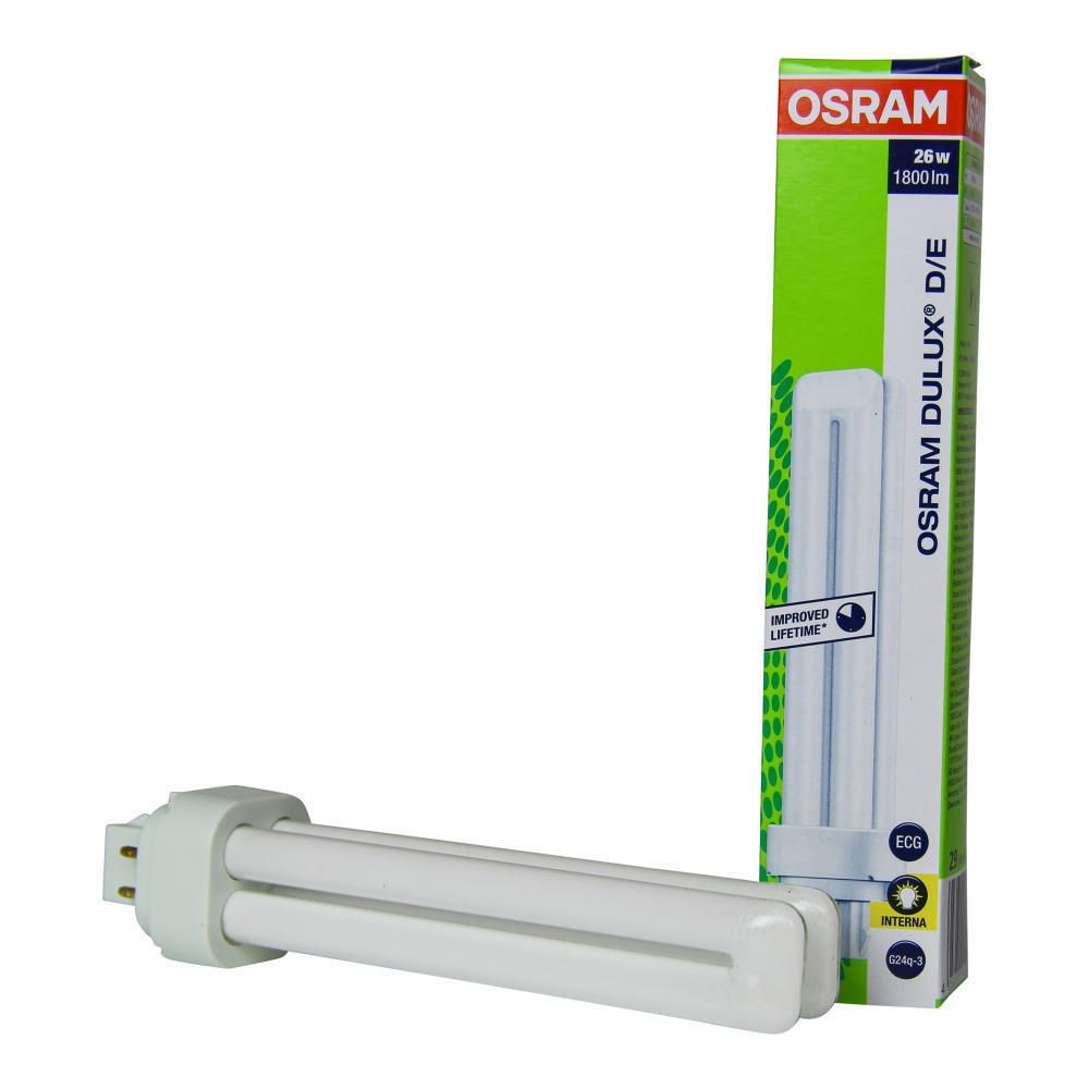Osram Dulux D/E 26W 827 | Extra Warmweiß - 4-Stift