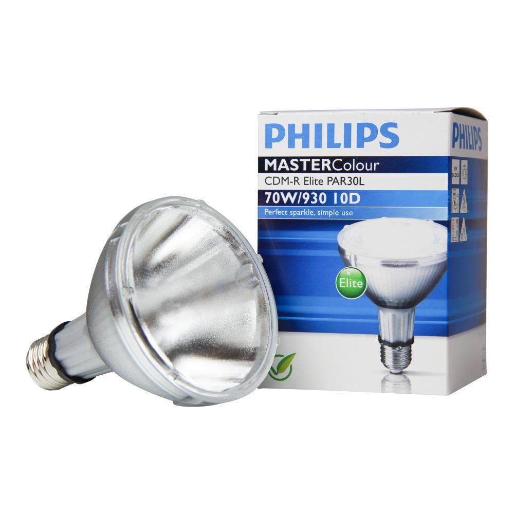 Philips MASTERColour CDM-R Elite 70W 930 E27 PAR30L 10D | Warmweiß - Beste Farbwiedergabe