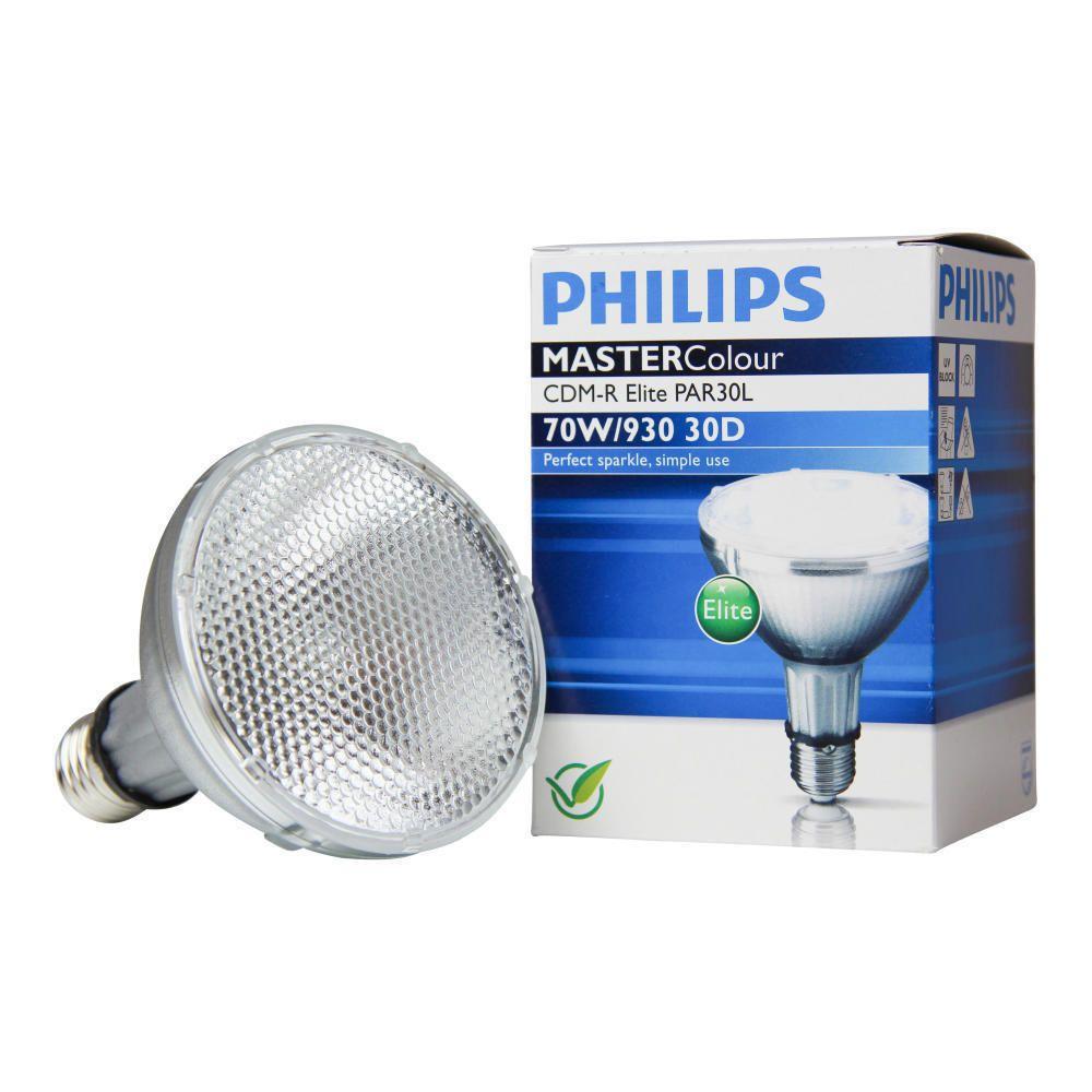 Philips MASTERColour CDM-R Elite 70W 930 E27 PAR30L 30D   Warmweiß - Beste Farbwiedergabe