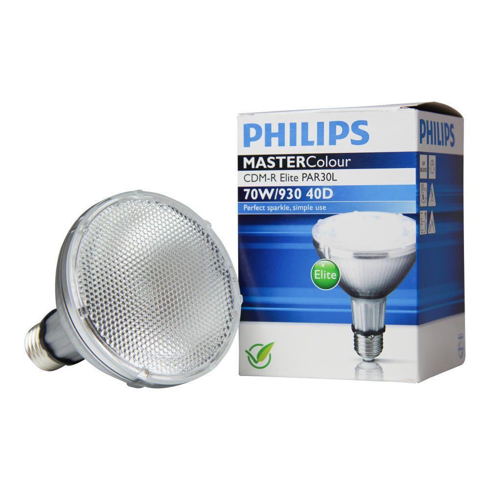 Philips MASTERColour CDM-R Elite 70W 930 E27 PAR30L 40D   Warmweiß - Beste Farbwiedergabe