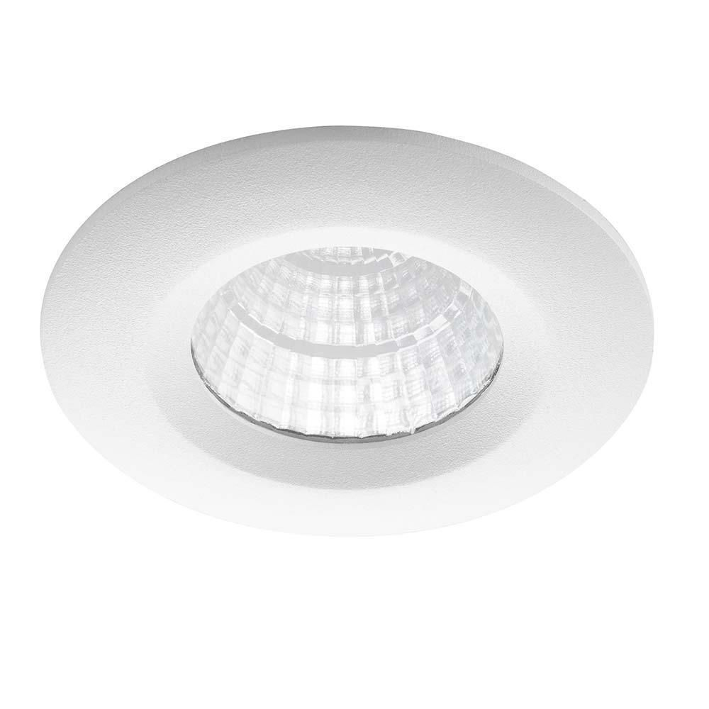 Noxion LED Strahler Forseti IP44 2700K Weiß 6W | Beste Farbwiedergabe - Dimmbar