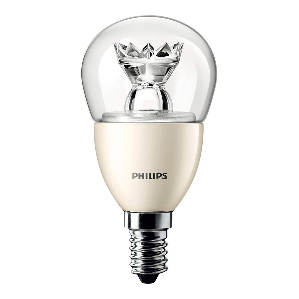 Philips LEDluster E14 P50 8W 827 Klar (MASTER) | DimTone Dimmbar - Ersetzt 60W