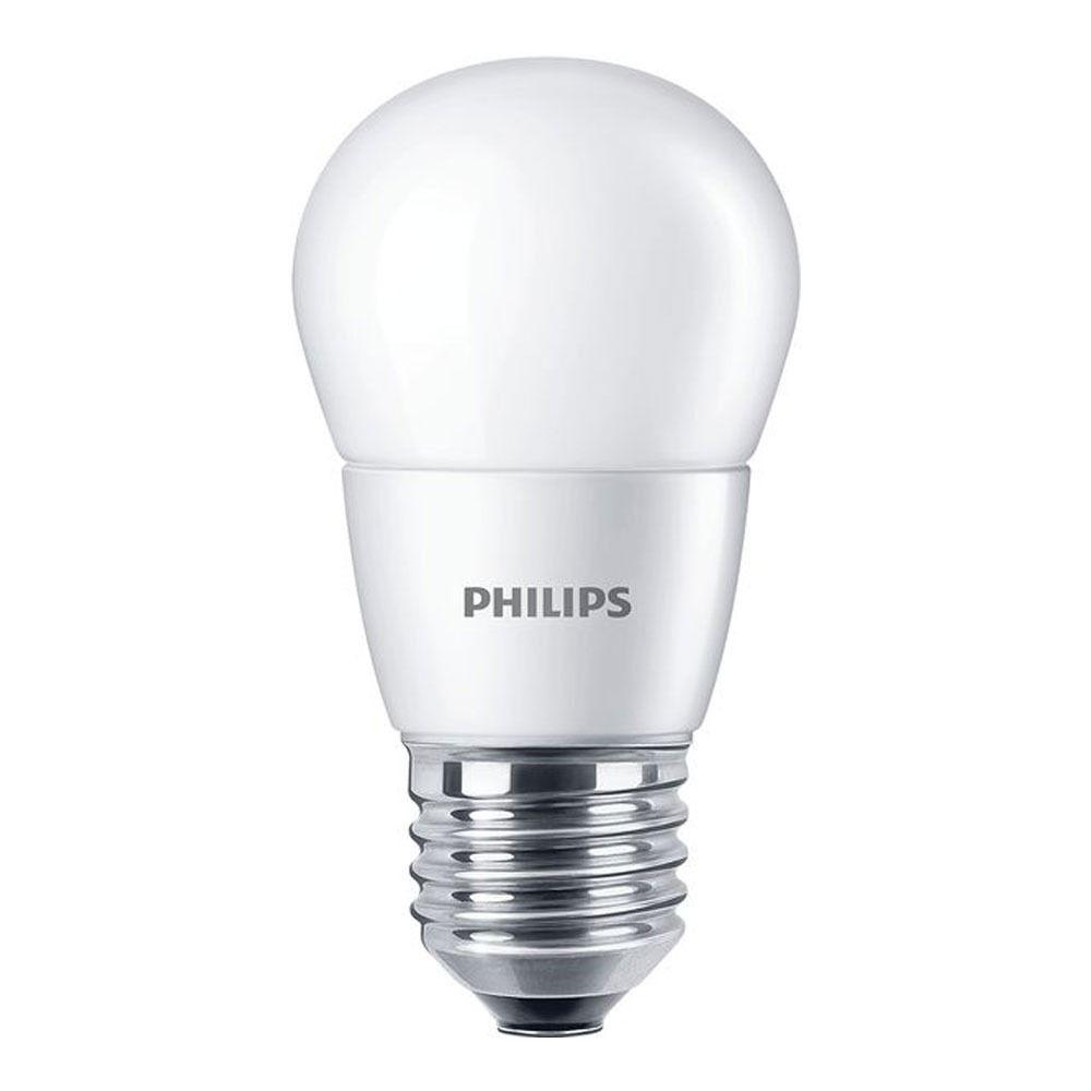 Philips CorePro LEDlustre E27 P48 7W 827 Matt   Ersetzt 60W