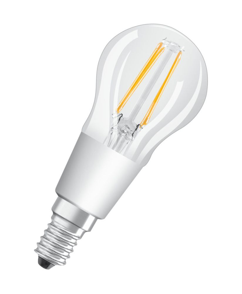 Osram Parathom Retrofit Classic E14 P 5W 927 Filament   Extra Warmweiß - Beste Farbwiedergabe - Dimmbar - Ersetzt 40W