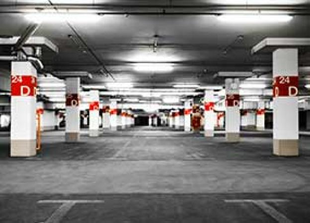 LED-Beleuchtung für Parkplätze