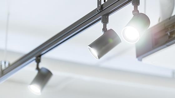 GU5.3 LED-Strahler als Schienenstrahler