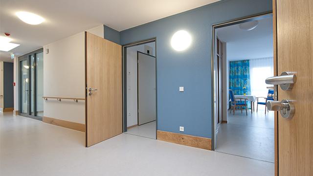 LED-Wandleuchte im 'Gesundheitswesen