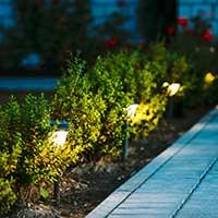 LED-Bewegungsmelder für draußen