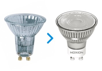 Werchsel zu LED-Spots