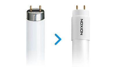 Wechsel zu LED-Röhren