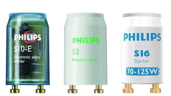 Starter für Leuchtstoffröhren