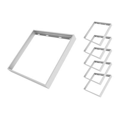 Multipack: 6x Noxion LED Panel Econox Kit für abnehmbare Oberflächenmontage 625x625