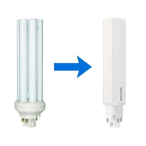 Energiesparlampe und LED-Energiesparlampe